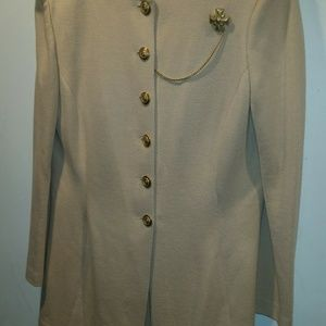 St. John Collection  Marrie Gray Size 10 Suit